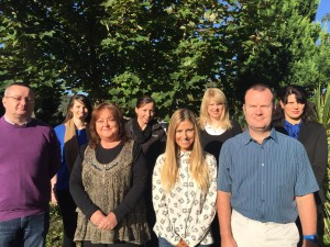 Year 2 Accounting Technician Students celebrate Distinctions