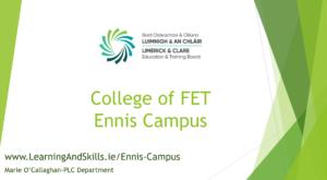 College of FET Ennis Campus